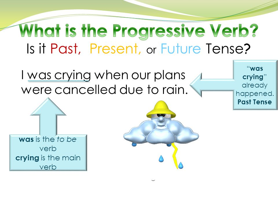 What is the Progressive Verb