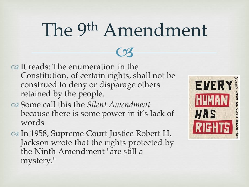 Amendments To the U.S. Constitution. - ppt download