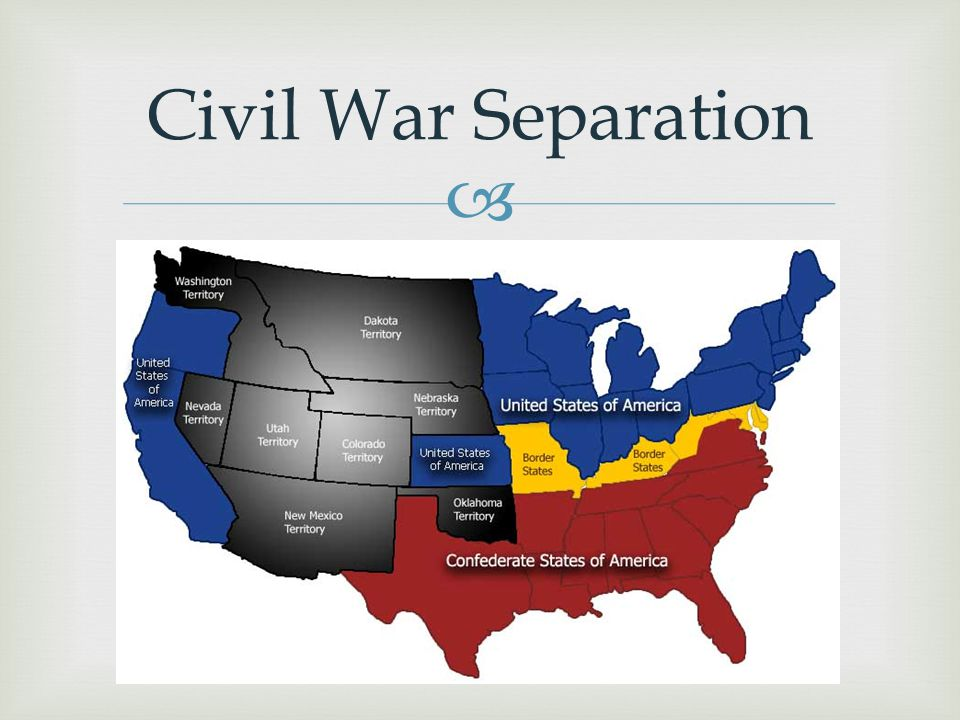 Civil War Separation