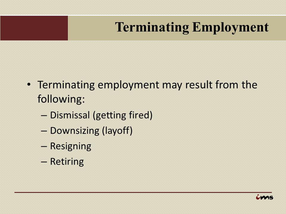 Terminating Employment