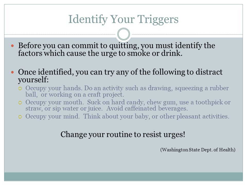 Identify Your Triggers