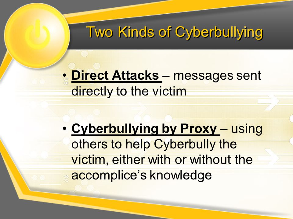 Two Kinds of Cyberbullying