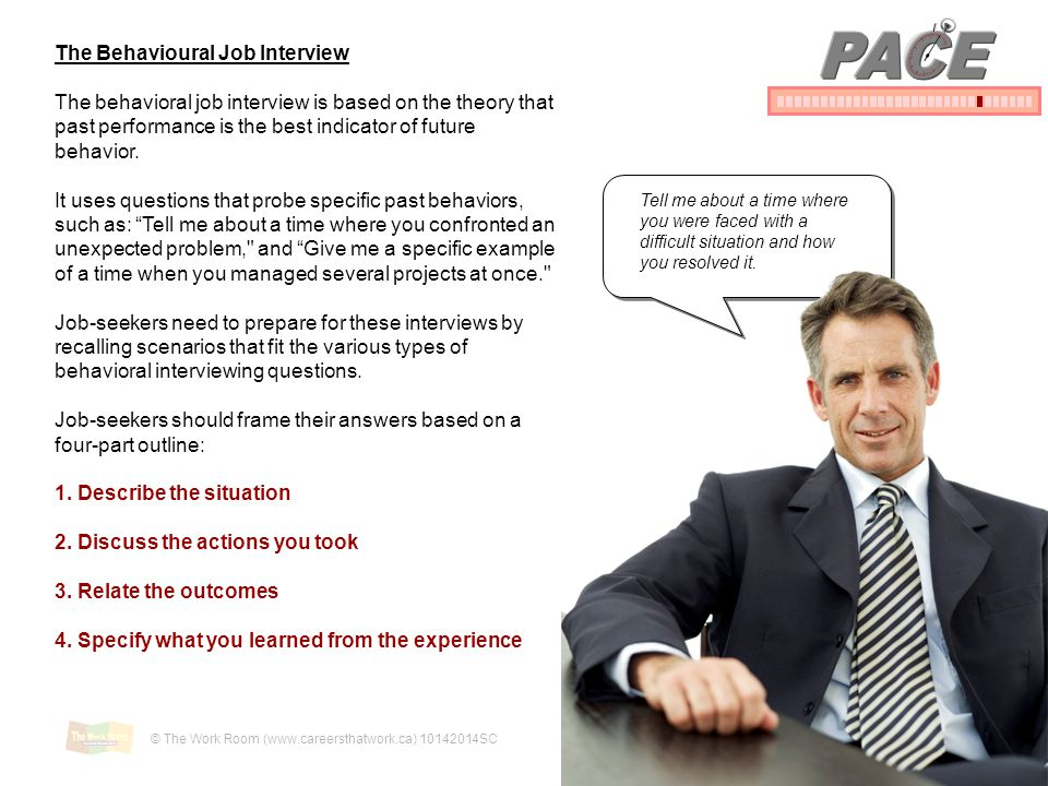 PACE The Behavioural Job Interview
