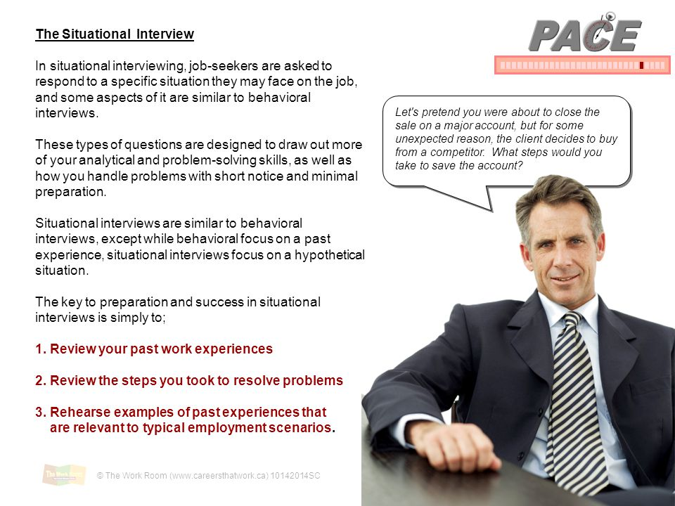 PACE The Situational Interview