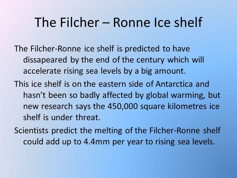 The Filcher – Ronne Ice shelf