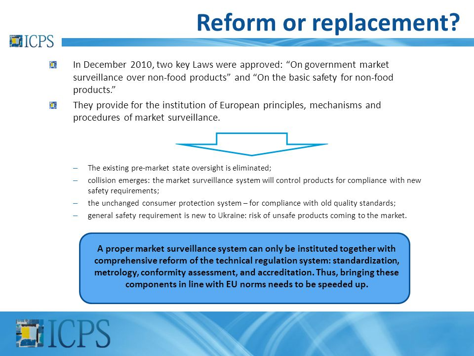 Reform or replacement