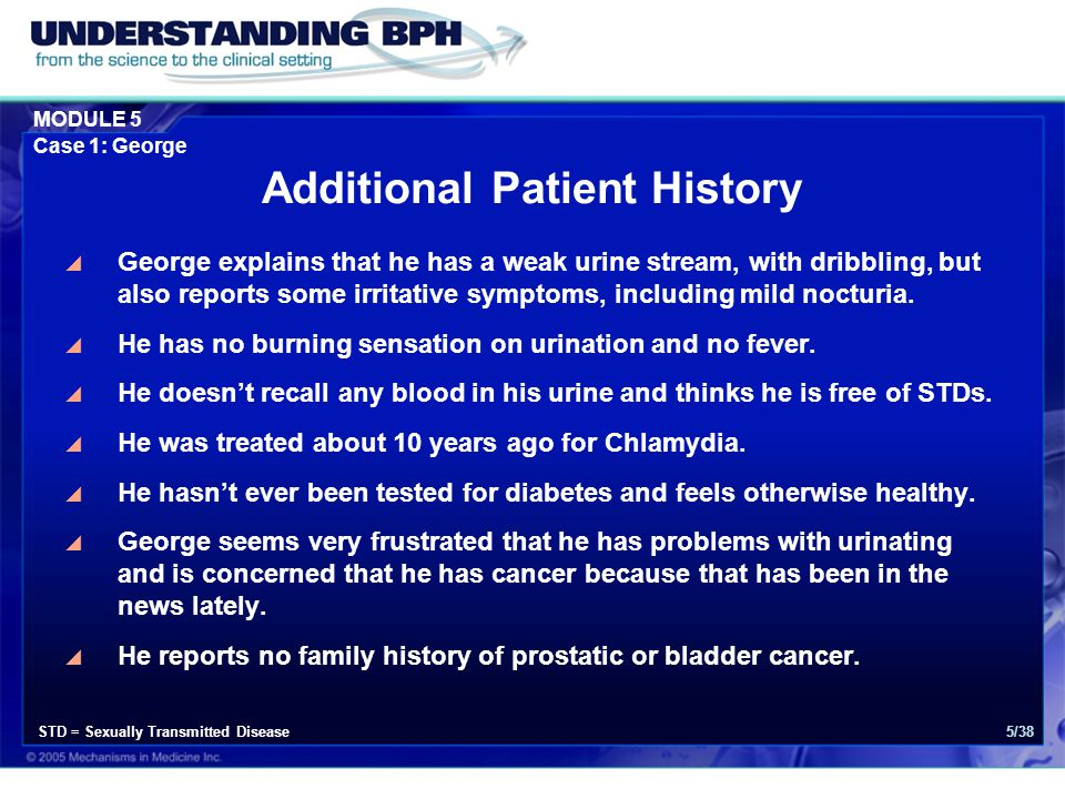 Additional Patient History