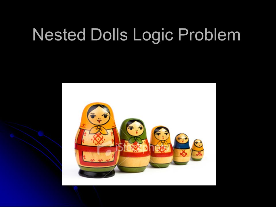 Nested Dolls Logic Problem
