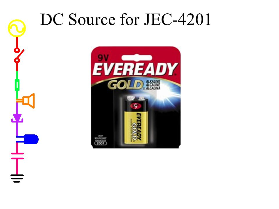DC Source for JEC-4201 DC Source E3631A