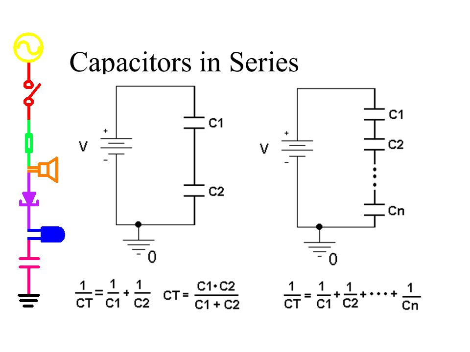 Wiring Capacitors In Series And Parallel Lab