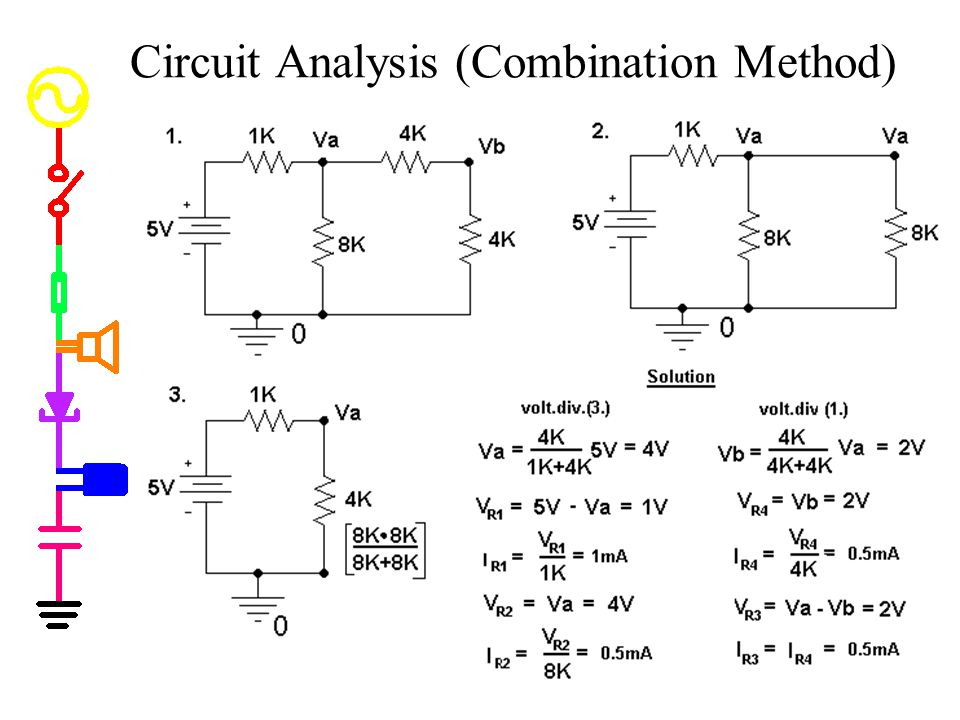 Circuit Analysis (Combination Method)