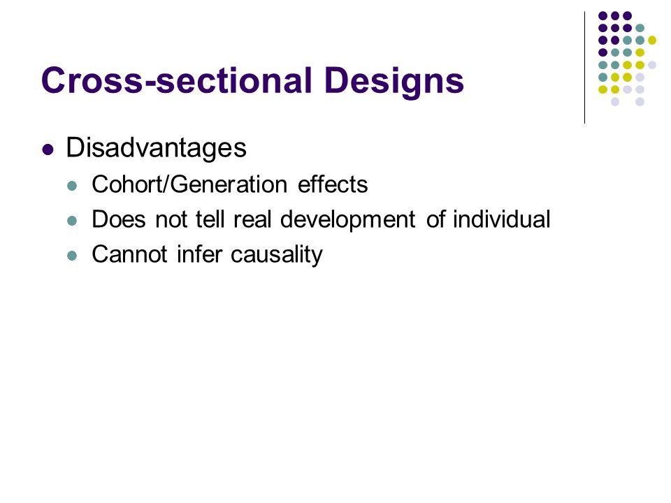 Cross-sectional Designs
