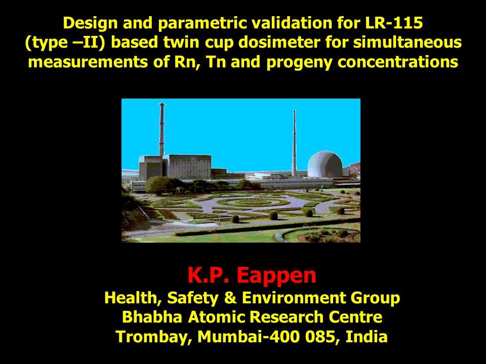 K.P. Eappen Design and parametric validation for LR-115