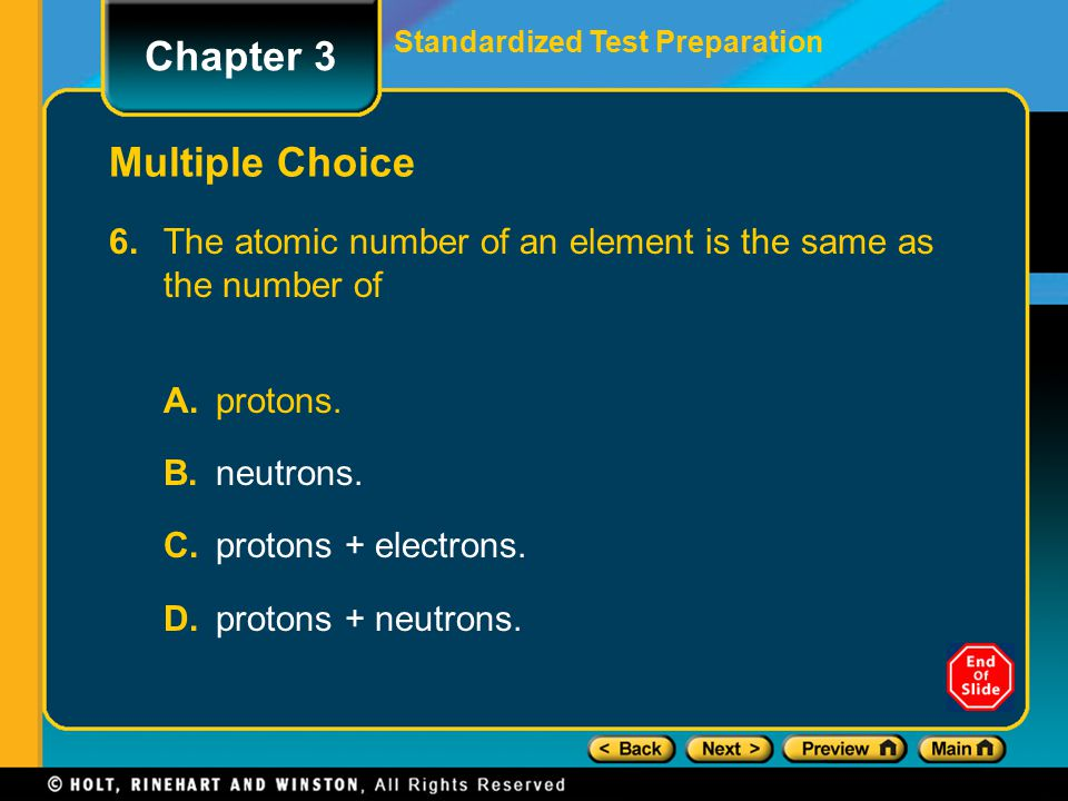 Chapter 3 Multiple Choice