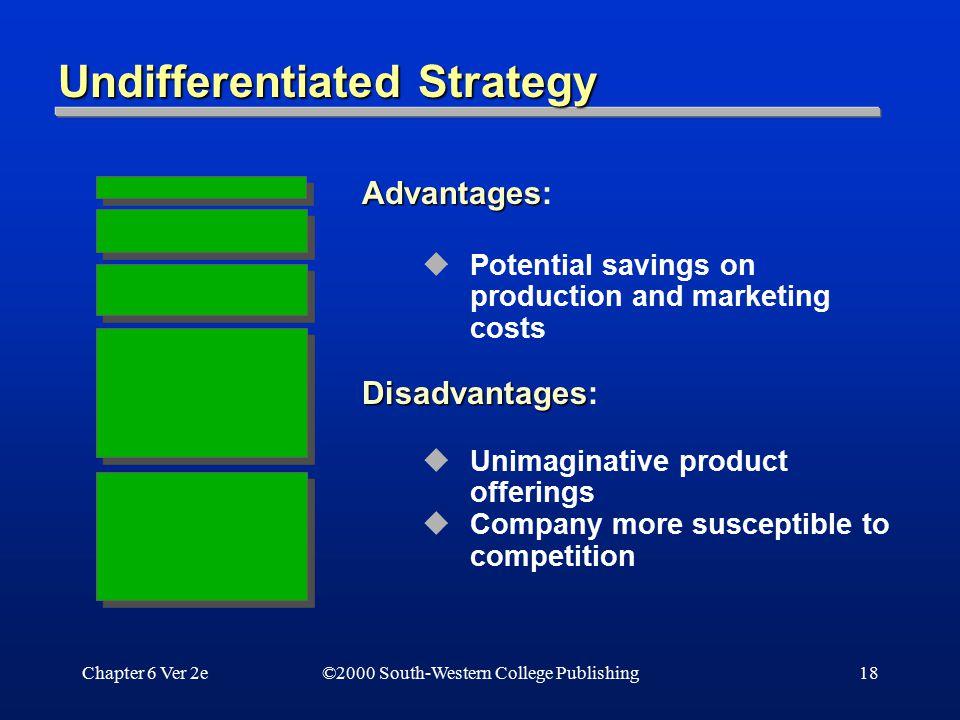 Undifferentiated Strategy