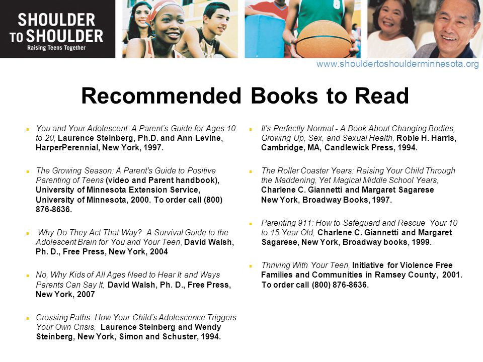 Recommended Books to Read