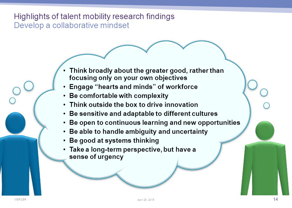 Driving talent mobility excellence Leading companies optimize their global workforce