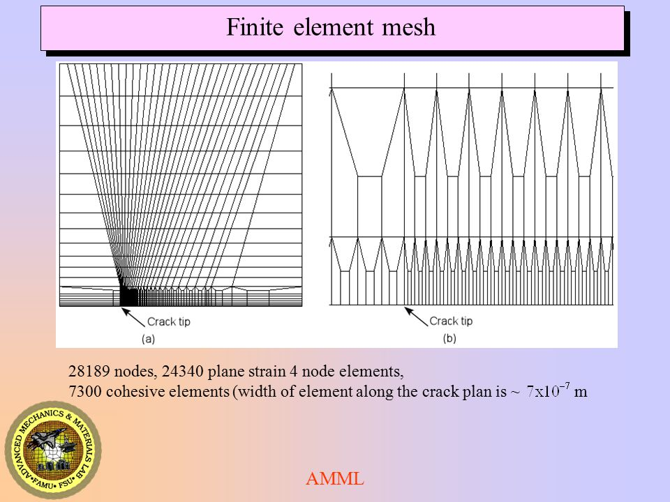 Finite element mesh AMML