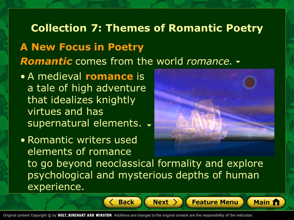 essay on poetry of the romantic revival It's time to get all gooey and romantic as we study romantic poetry romanticism was an artistic and philosophical movement of the late 1700s and early 1800s, and its themes spread to many forms.