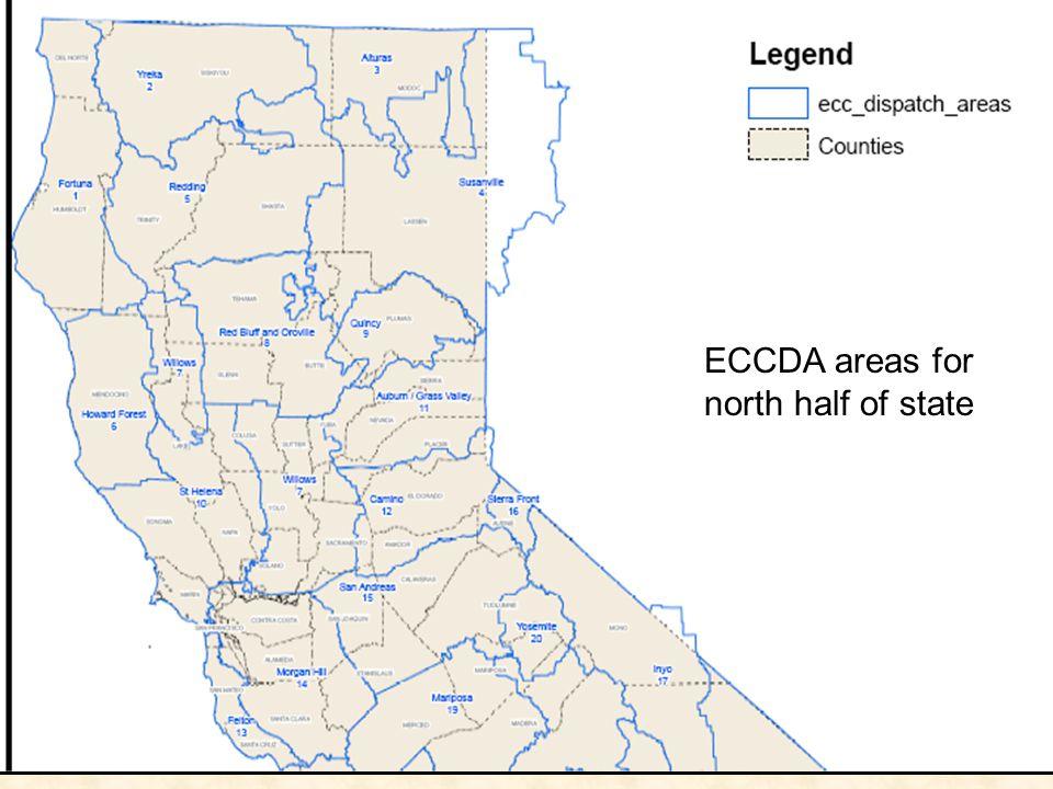 ECCDA areas for north half of state