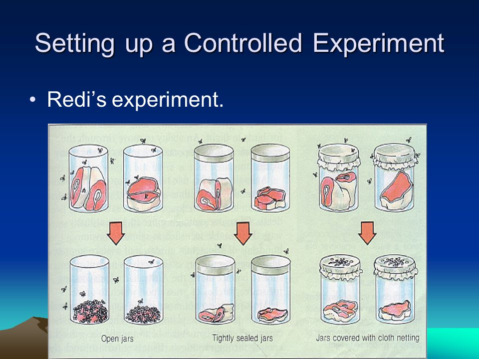 Setting up a Controlled Experiment