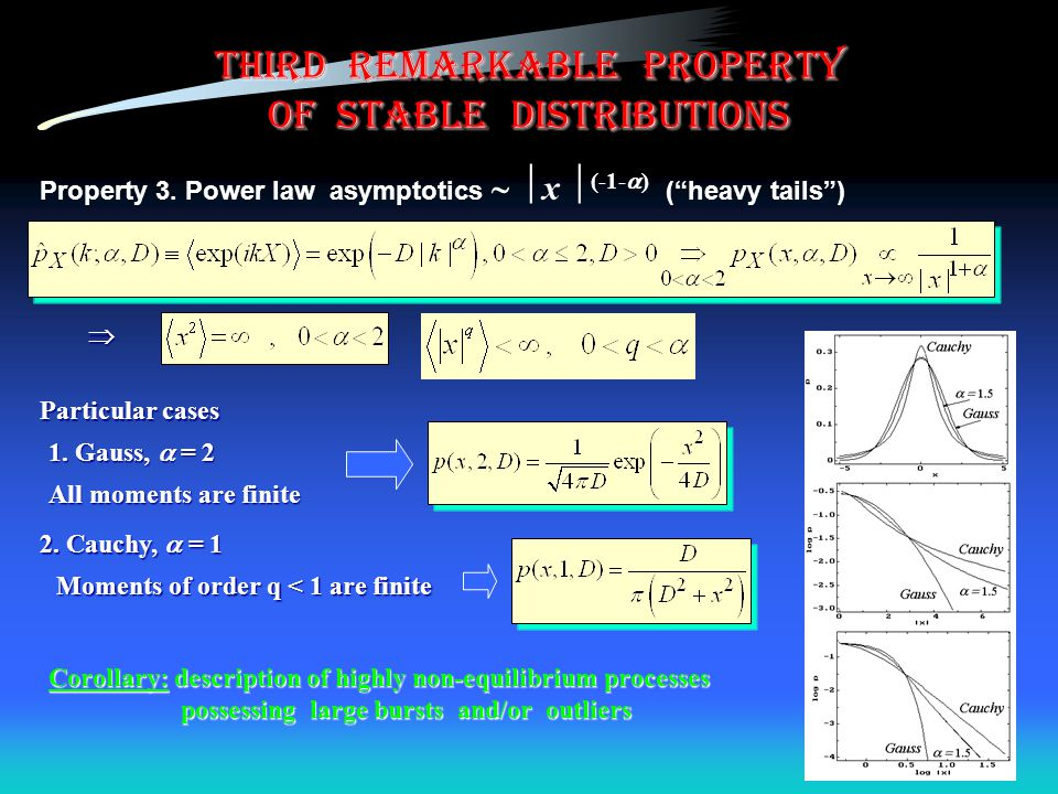 third remarkable property of stable distributions