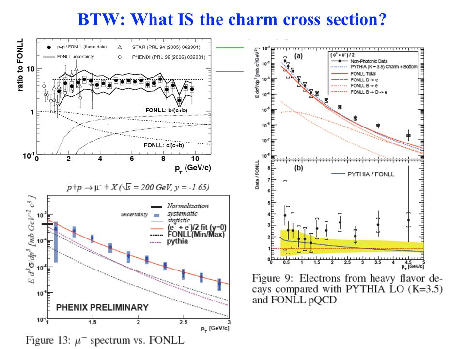BTW: What IS the charm cross section