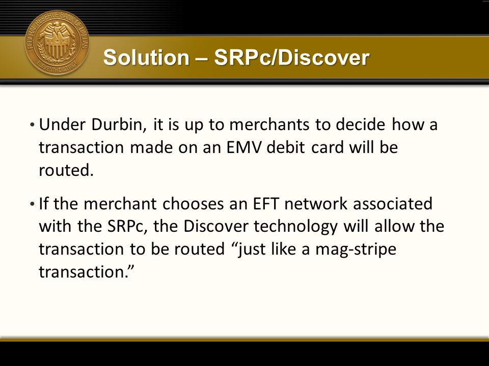 Solution – SRPc/Discover