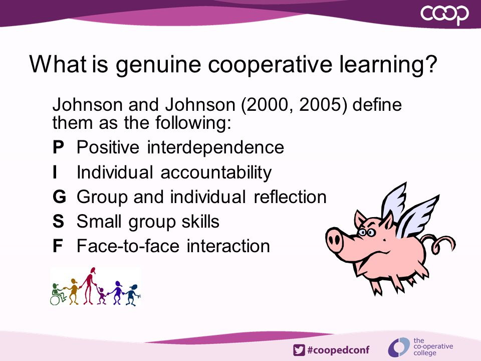 What is genuine cooperative learning