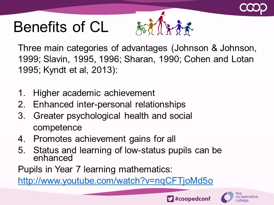 Benefits of CL