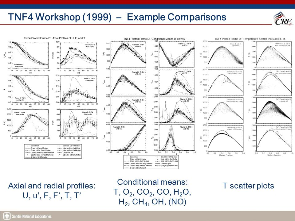 TNF4 Workshop (1999) – Example Comparisons