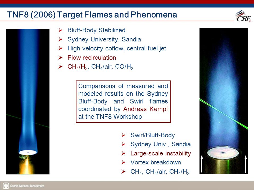 TNF8 (2006) Target Flames and Phenomena