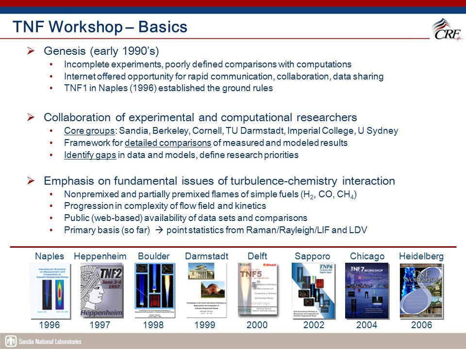TNF Workshop – Basics Genesis (early 1990's)