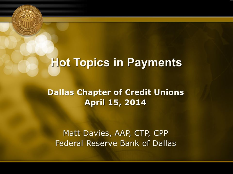 Dallas Chapter of Credit Unions