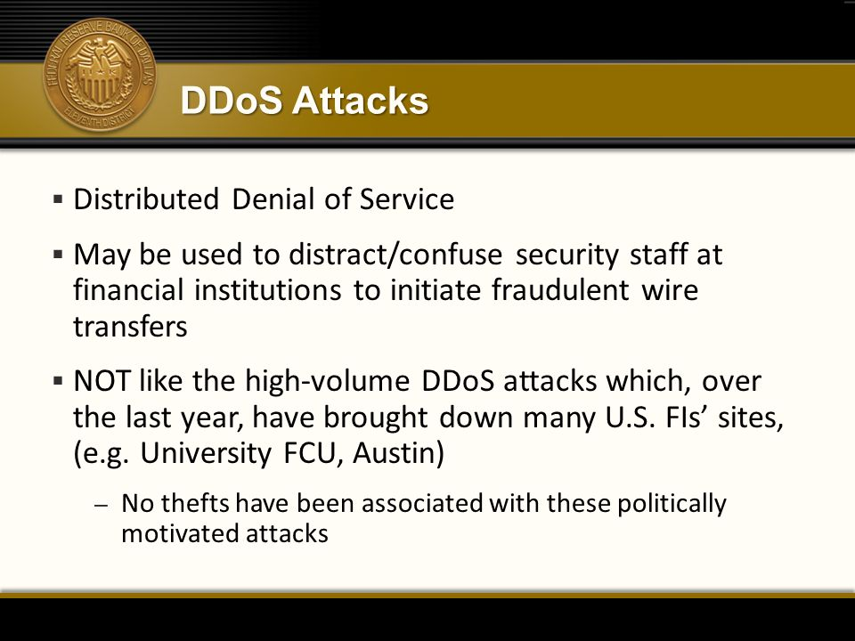 DDoS Attacks Distributed Denial of Service