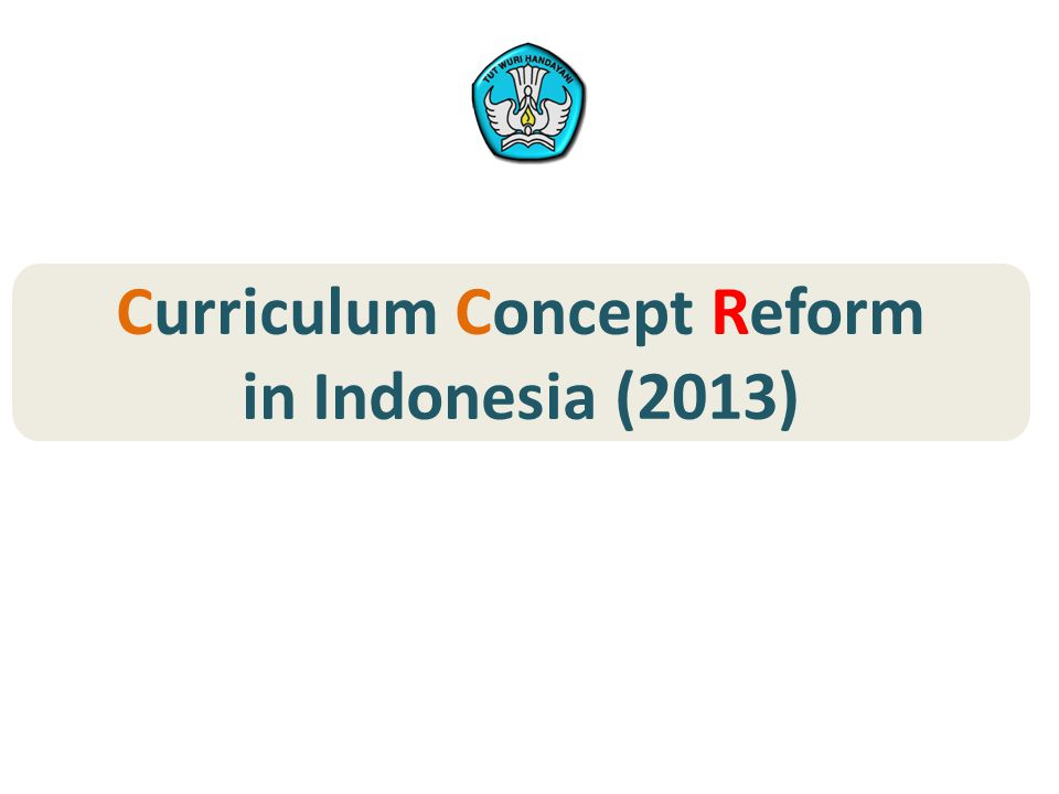 Curriculum Concept Reform