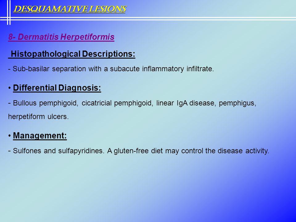 Histopathological Descriptions: