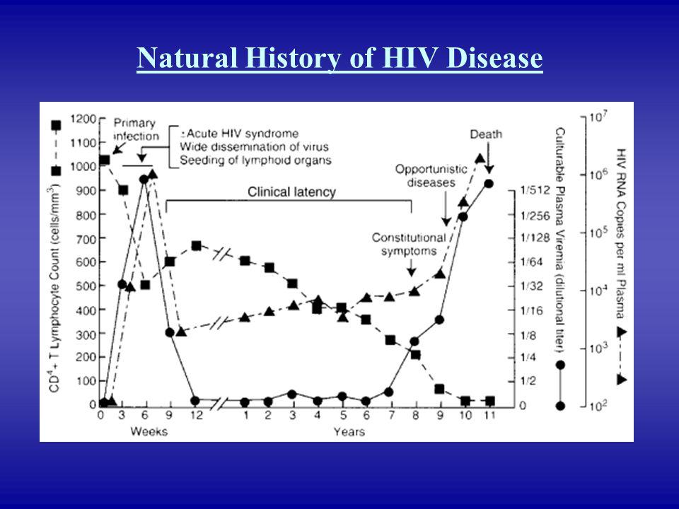 Natural History of HIV Disease