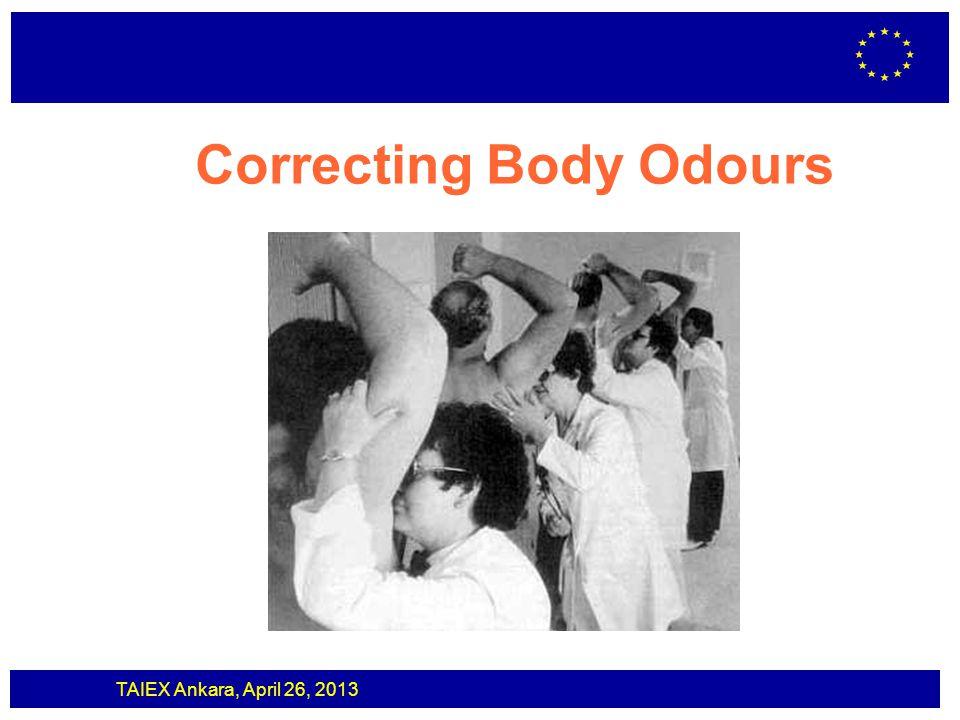 Correcting Body Odours