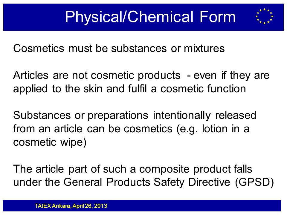 Physical/Chemical Form