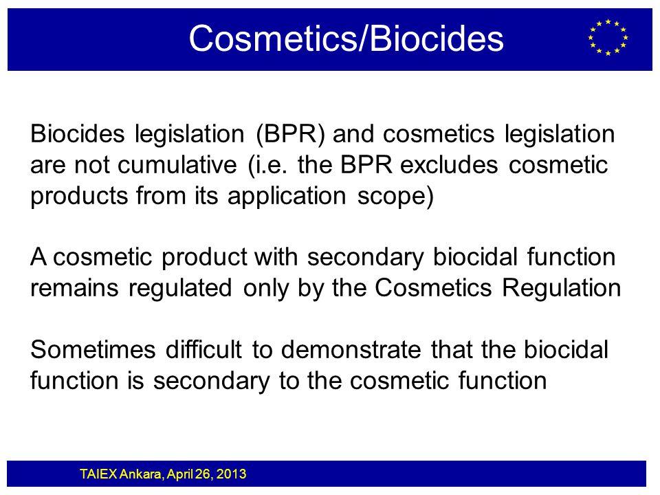 Cosmetics/Biocides