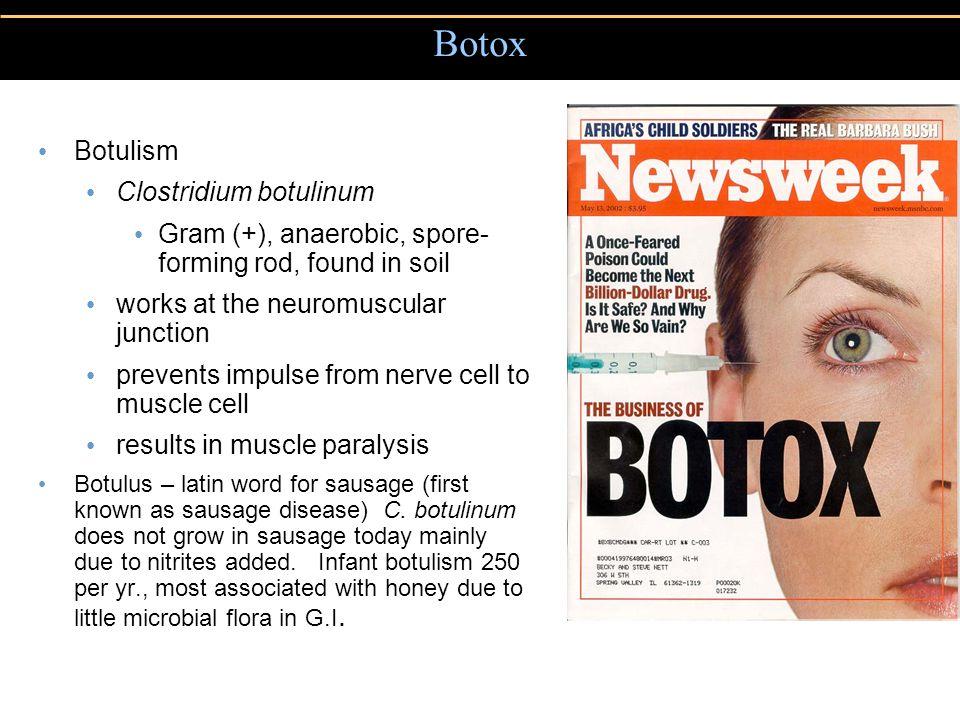 Botox Botulism Clostridium botulinum
