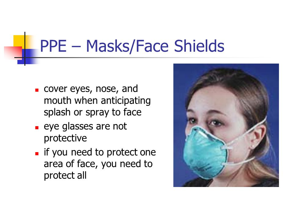 PPE – Masks/Face Shields