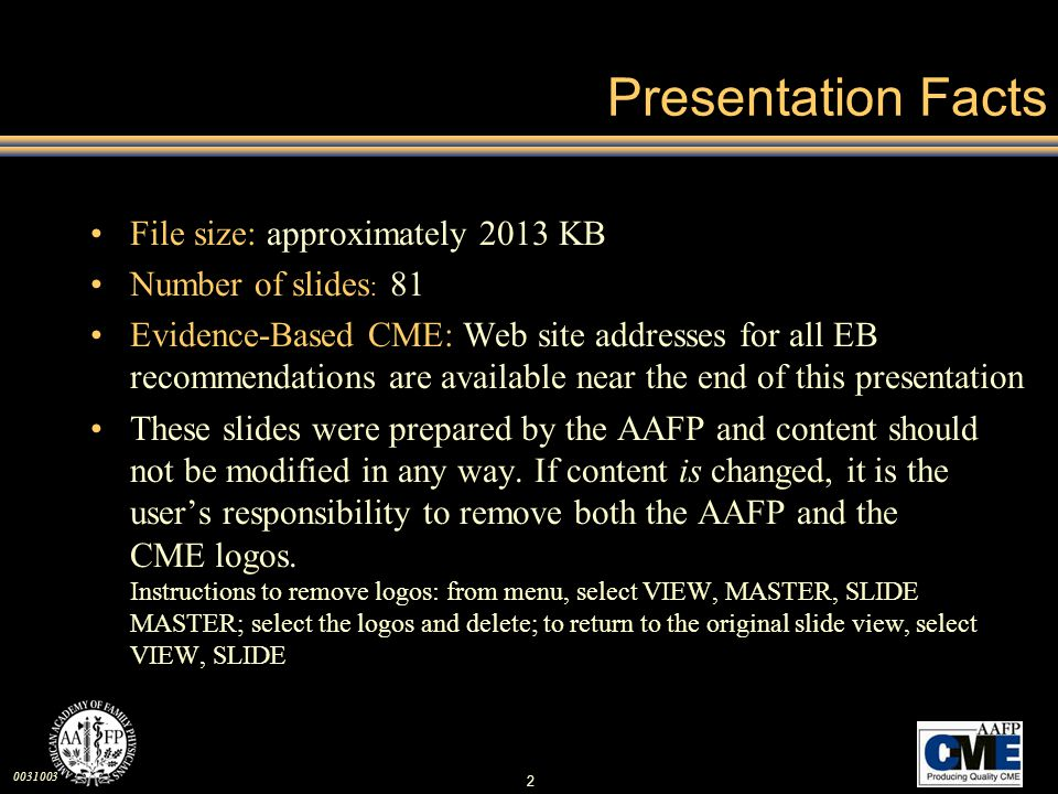 Presentation Facts File size: approximately 2013 KB