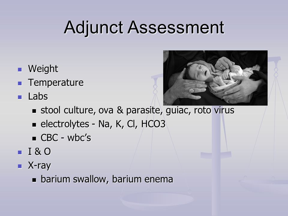 Adjunct Assessment Weight Temperature Labs