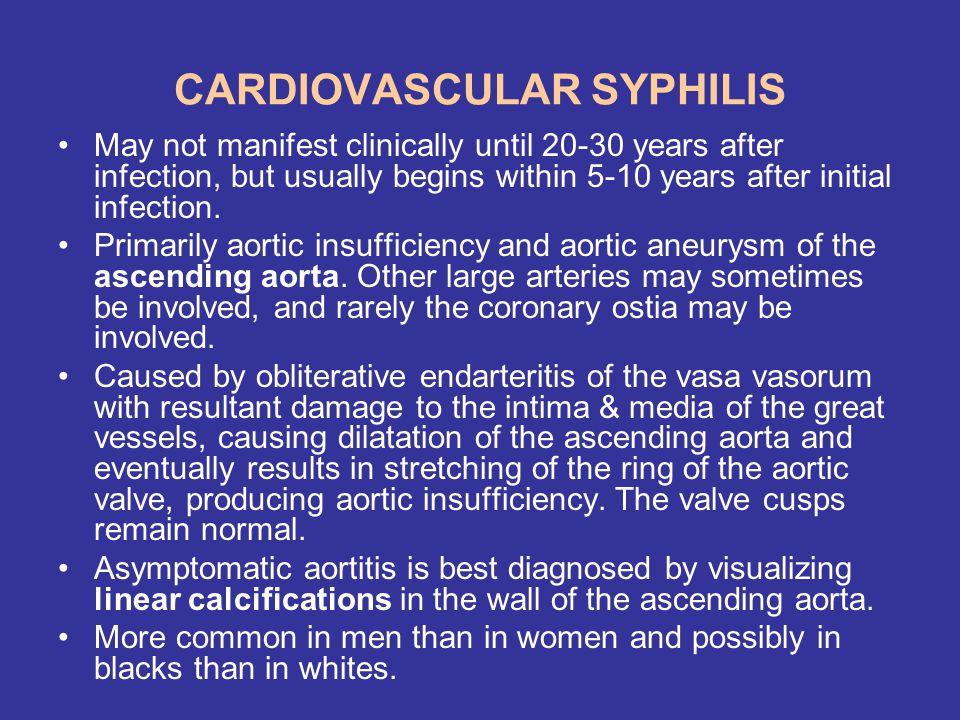 CARDIOVASCULAR SYPHILIS
