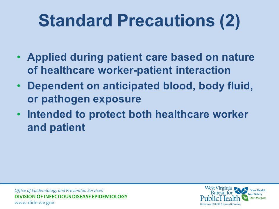 Standard Precautions (2)
