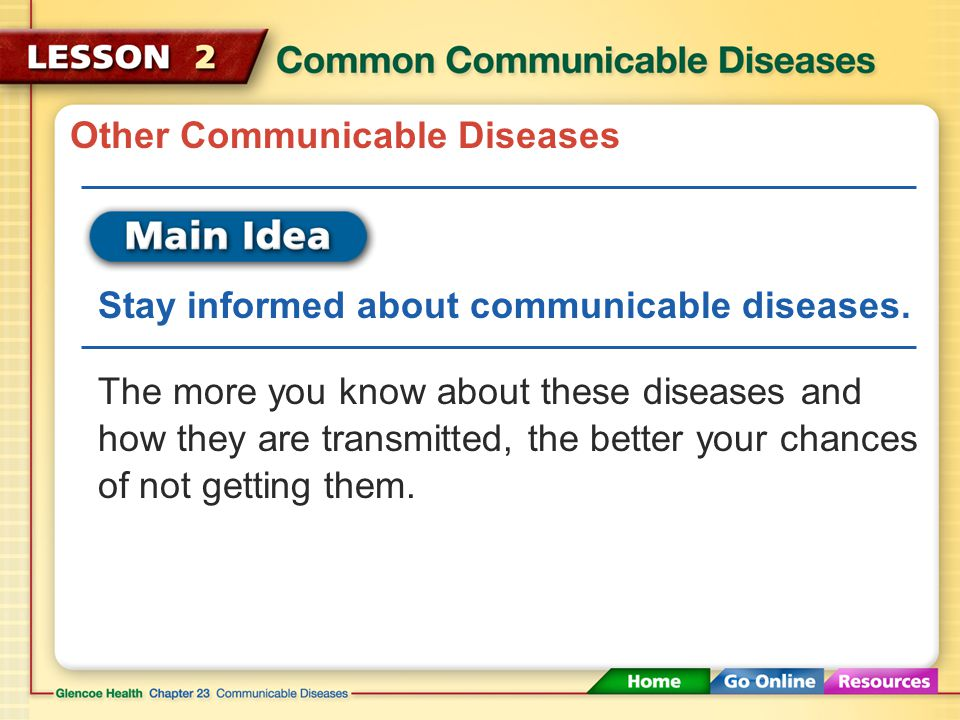 Other Communicable Diseases