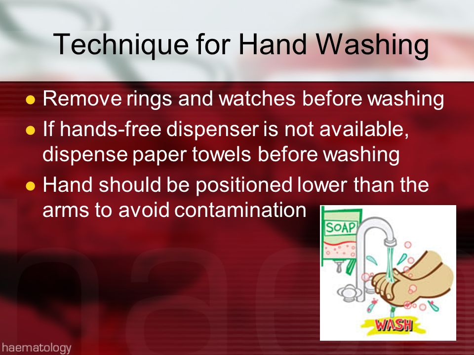 Technique for Hand Washing