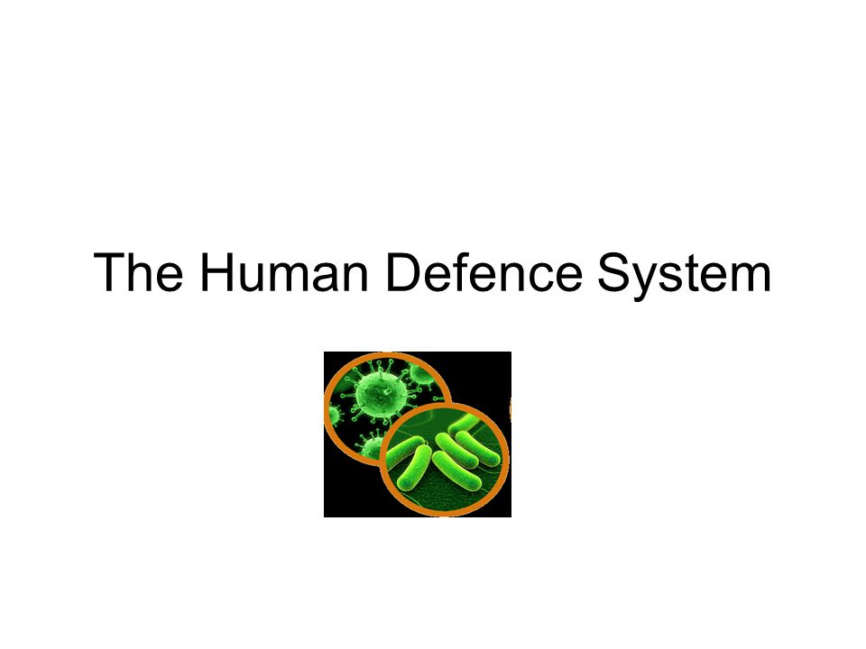 the human defense system How the immune system fights off already identified a key host defense to start dissecting how the host human immune system interacts with.